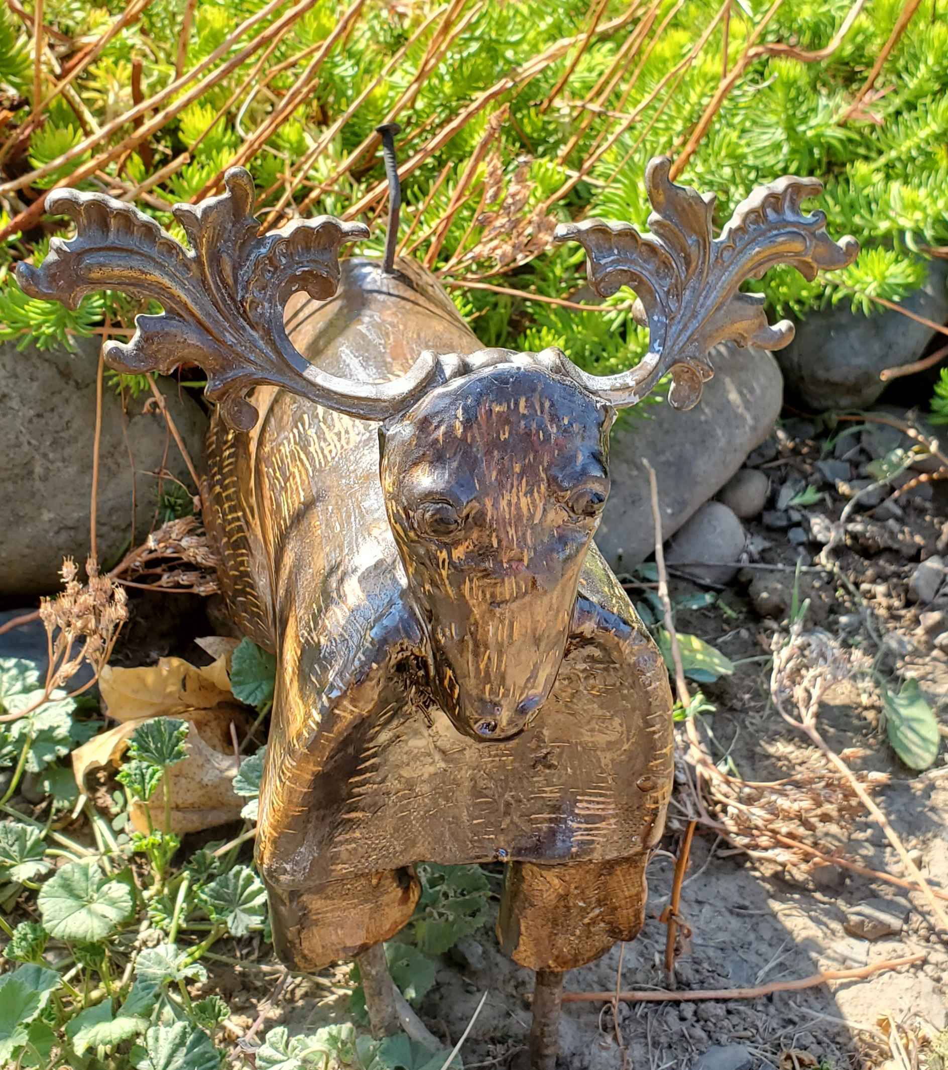 O Deer - ceramics - 8 x 9 - $35