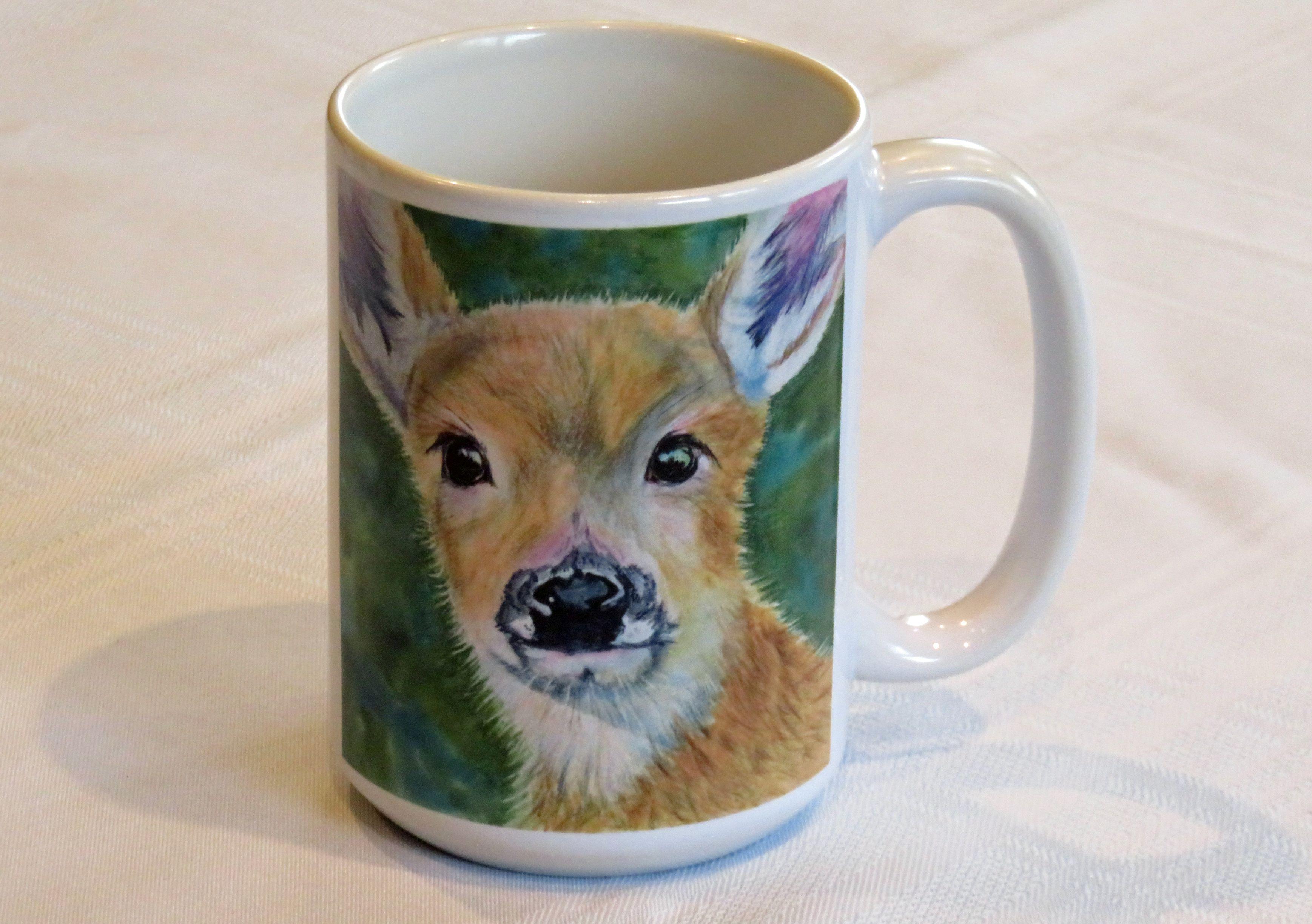 Mug - Fuzzy Fawn