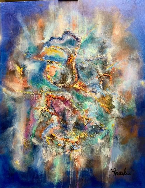 Nakshatra - 30x24 - Oil on Canvas