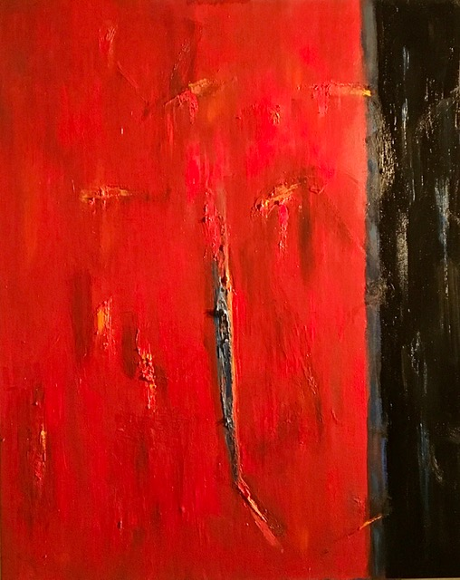Writing on the Wall - 30x24 - Oil on Canvas