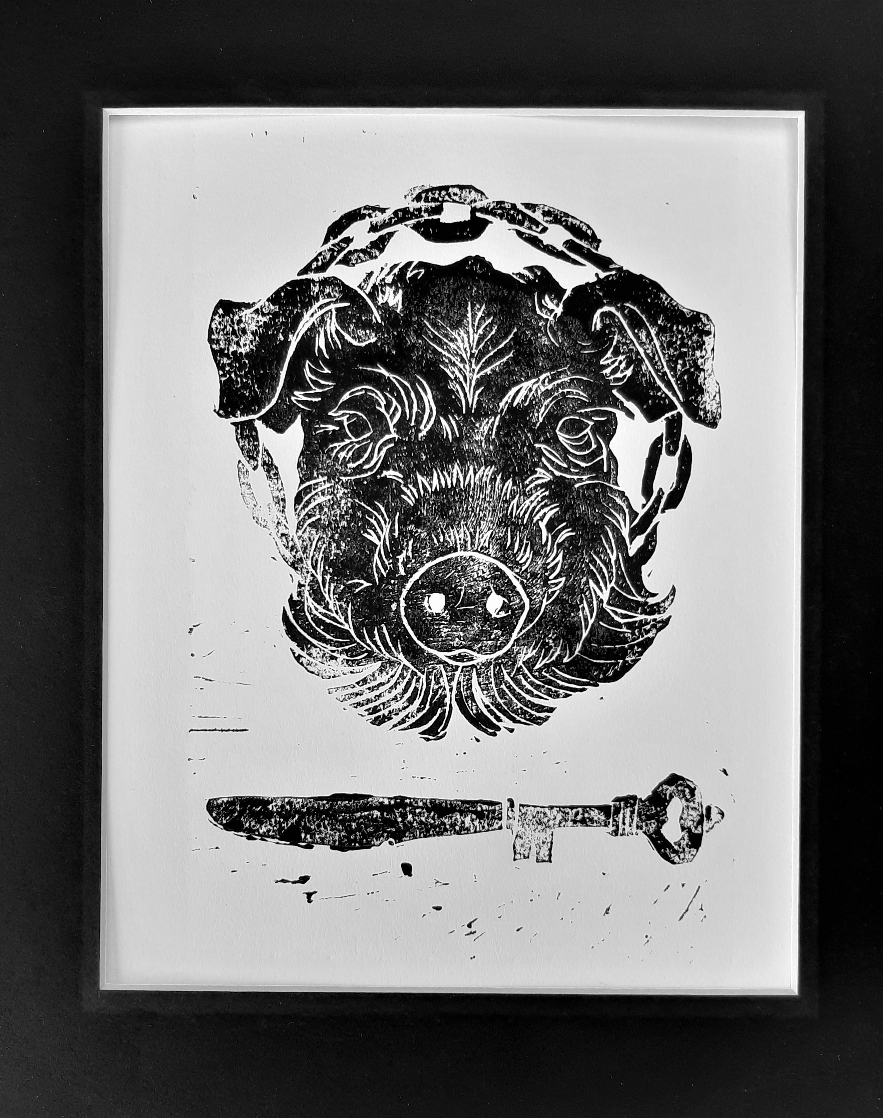 Wilbur - 11 x 14 - Ink on Cold Press Paper - $130