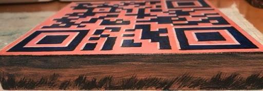 QR Code Block 1 - Side