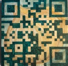 QR Code Block 3 - 6 x 6 - Acrylic - $350