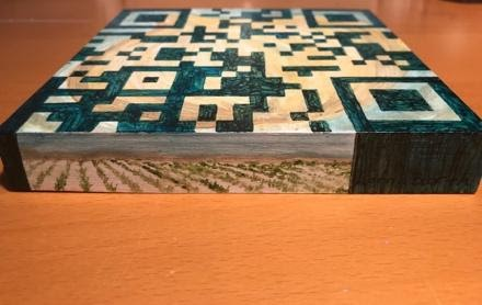 QR Code Block 3 - Side