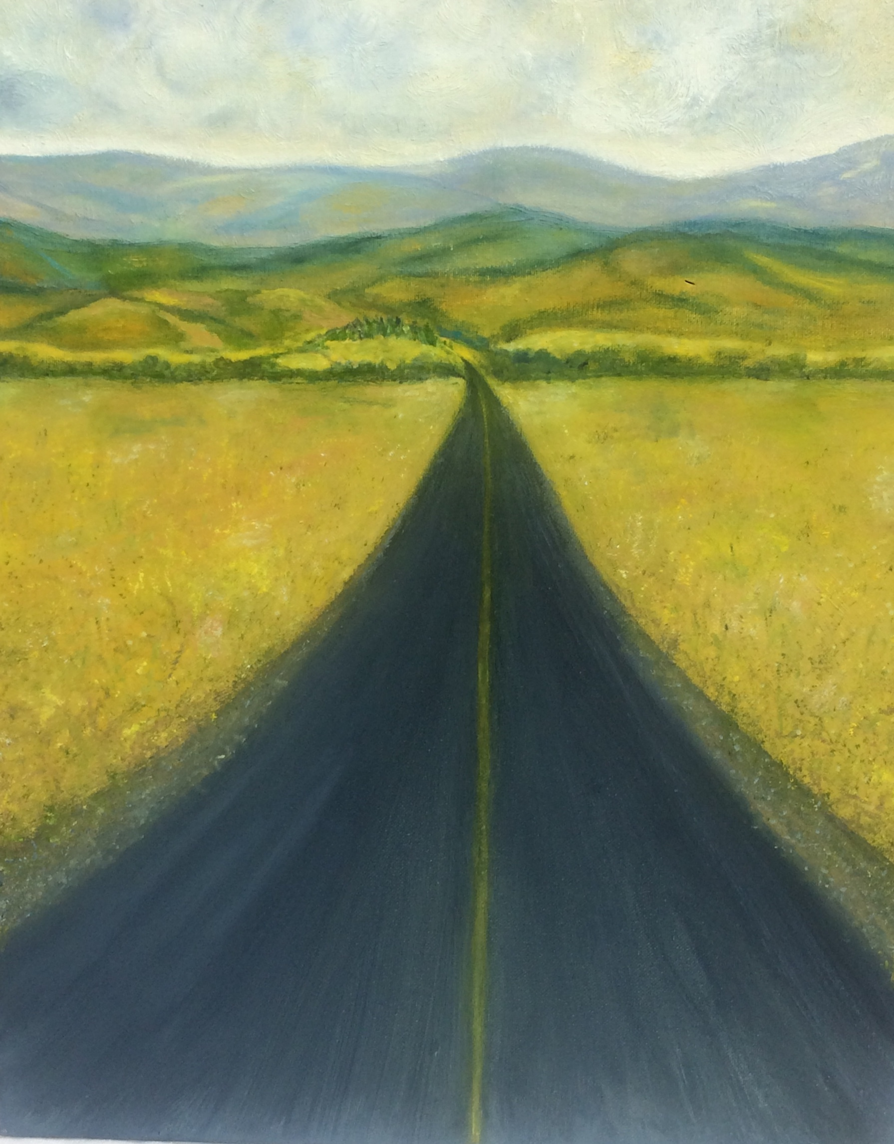 Country Road - 16 x 20 - Oil on Canvas - $375