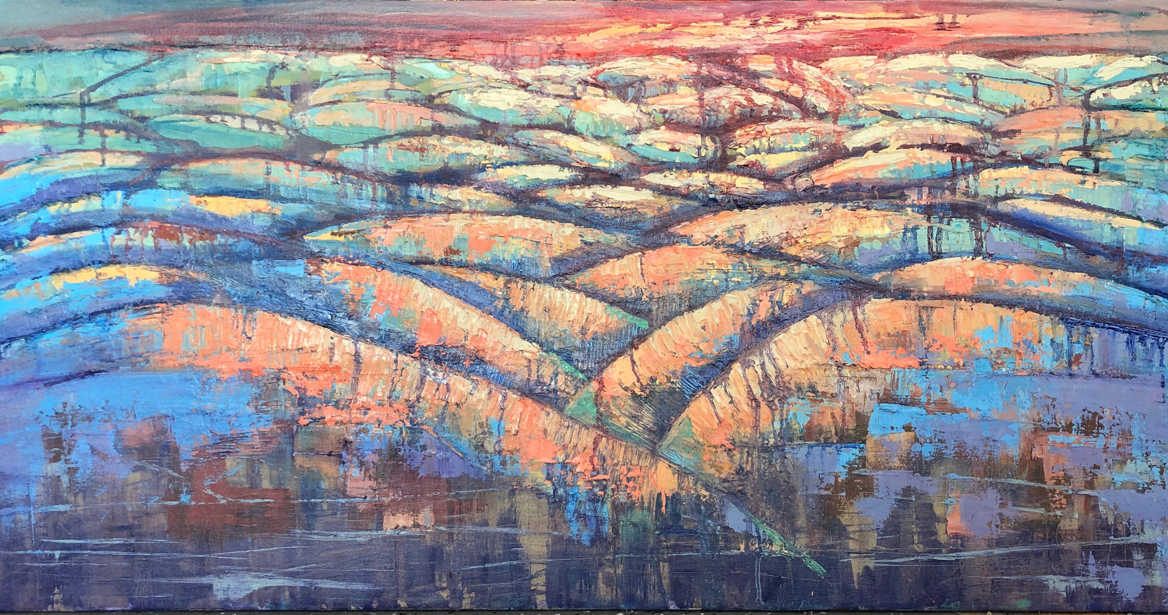 Compression - Oil on Canvas - $250
