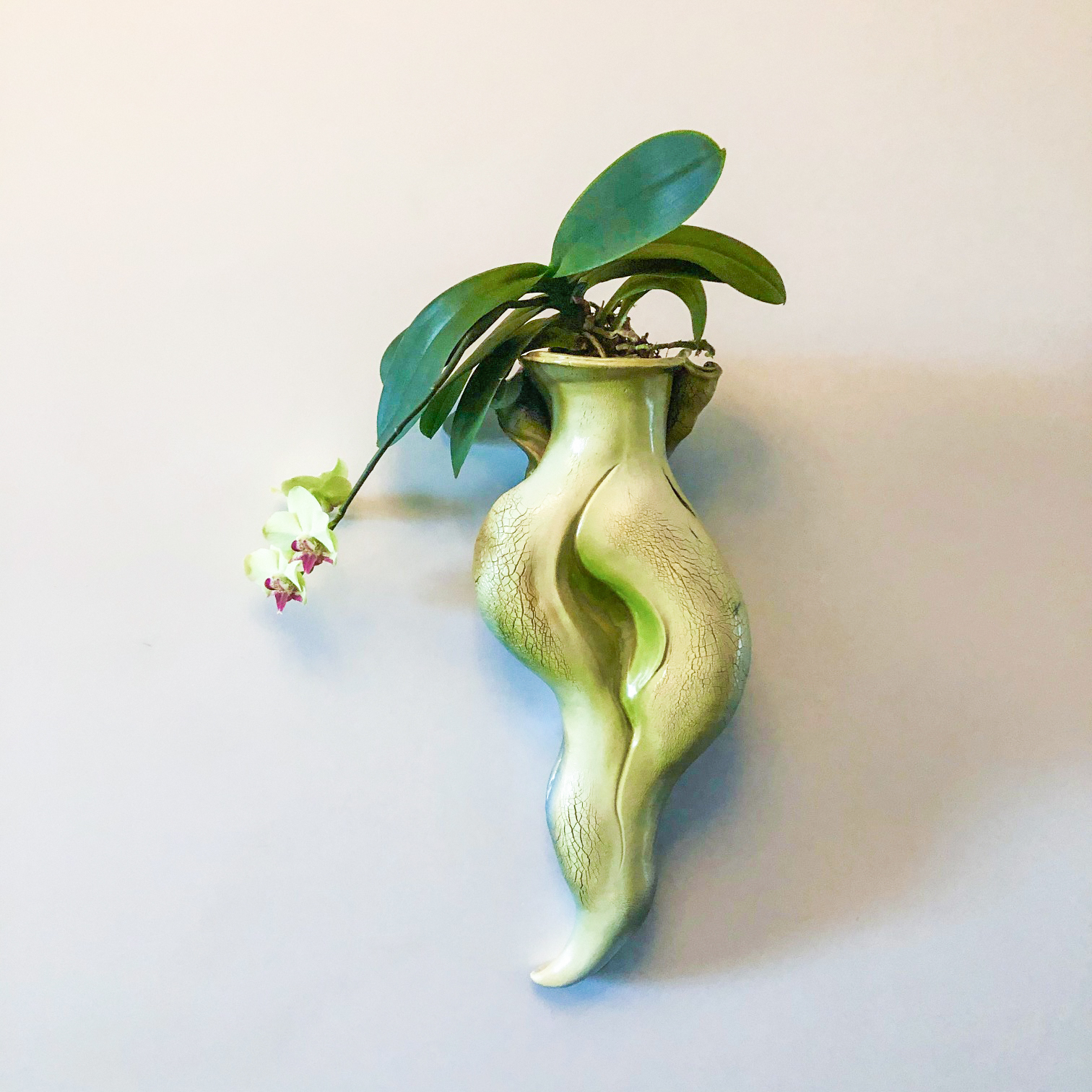 Spring Entwined - 20 x 9 x 5.5 - $375 - Stoneware